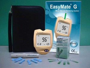 EasyMate Glucose Monitoring Kit
